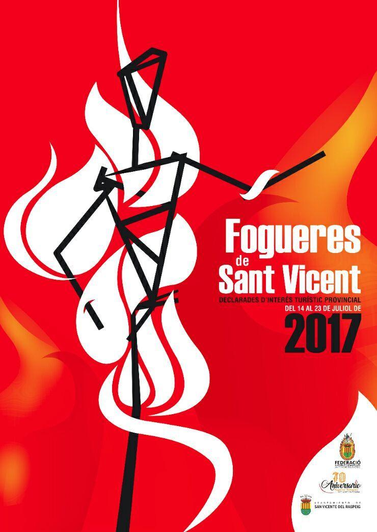 #FiestasSVR Programa Oficial Hogueras San Vicente del Raspeig 2017